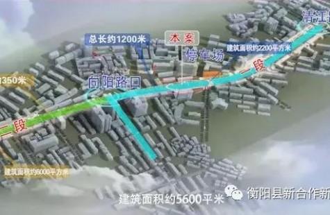 衡阳县新合作商业街